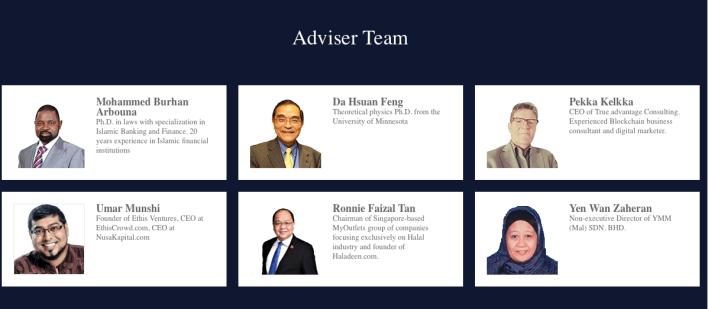 HalalChain's Advisors