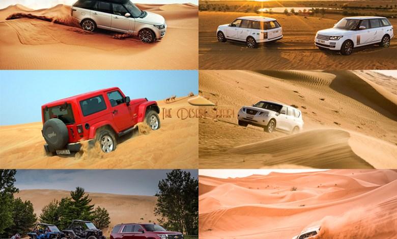 Best 8 Off Roading Vehicles for Dubai Desert Safari