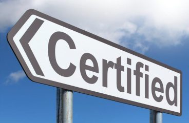First Blockchain Certification!