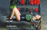 Chanel F-W 14.15 -1 Cara Delevingne & Binx Walton by Karl Lagerfeld