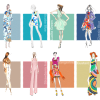 Pantone Color Fashion Report Spring 2015: PLEIN AIR
