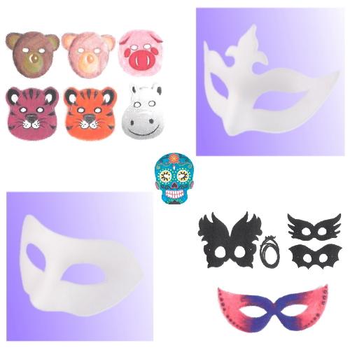 Máscaras de Cartão