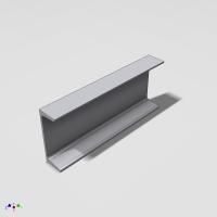 "Blocos FP 3D:  Viga ""U"" Americana Paramétrica - Inventor"