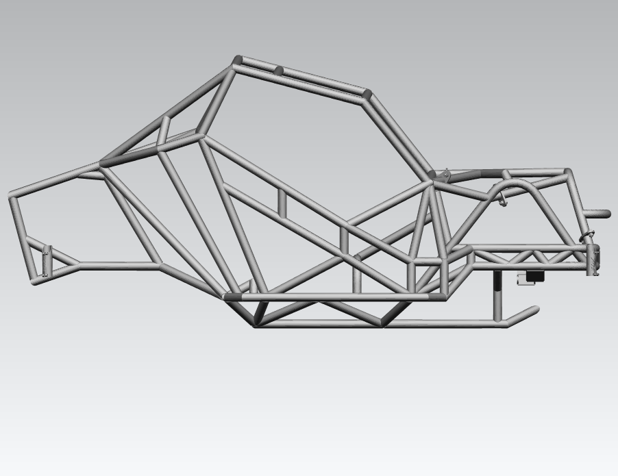 Blocos FP: Gaiola Tubular 3D – Chassi