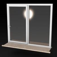 Blocos FP 3D:  Janela de Correr 3D