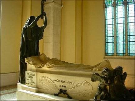 Tomba de Dato en el panteó dels fills il·lustres de Madrid