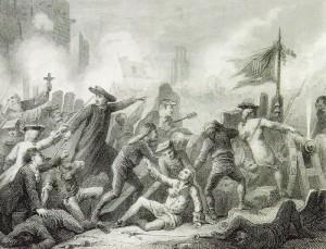 El canonge Anglada agafa el relleu dels artillers morts al Pla de Palau