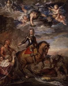 El Duc de Marlborough enaltit pels anglesos