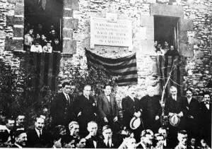 1919. Placa on va viure Bac de Roda