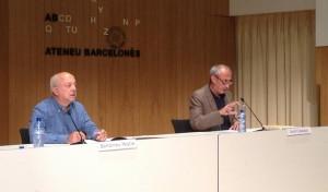 Jordi Casasses, president de l'Ateneu, presenta