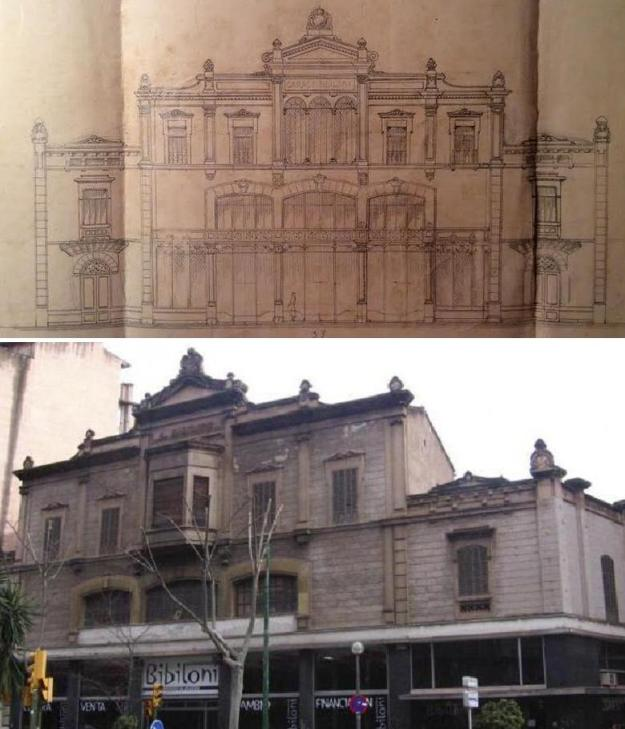 Can Bibiloni de Gaspar Bennàsser al carrer Aragó