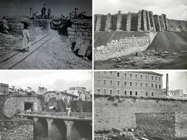 Destrucció de trams de murada de Palma (1902-1934)