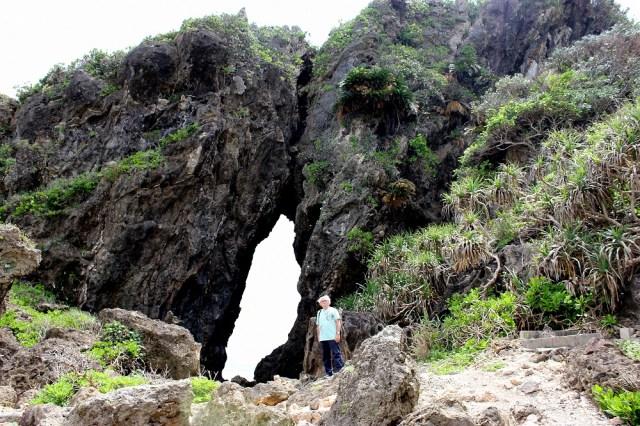 Penyal costaner de roques volcàniques