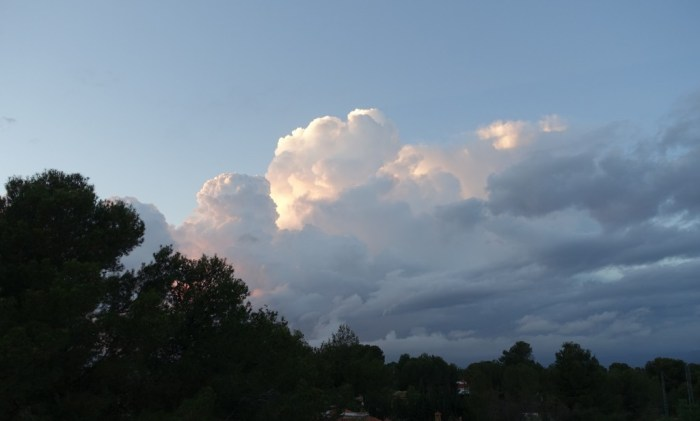 Tempesta que s'acosta. 29/11/2014, 17:35 h.