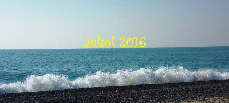"""""""Juliol és el mes del sol"""". Resum meteorològic de Juliol, 2016."""