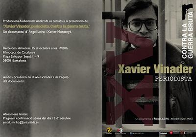 "Fitxa de lectura: ""El cas Vinader"", de Xavier Montanyà."