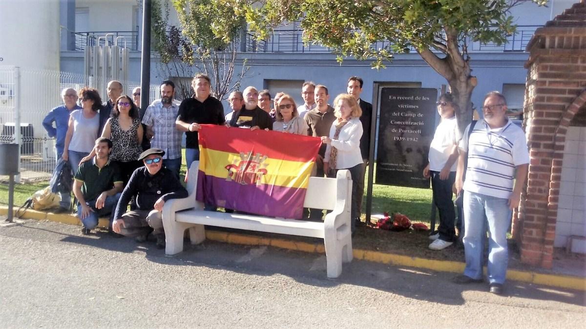 Honorar els defensors de la democràcia morts o represaliats pel feixisme. El camp de concentració de Portaceli (Camp de Túria).