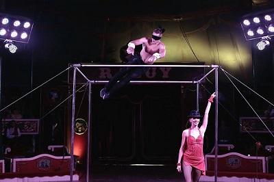 L'artista bielorús Pasha Voladas, atracció del nou espectaclacle del Circ Raluy