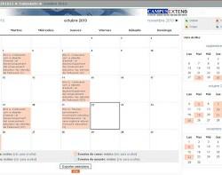 calendari moodle