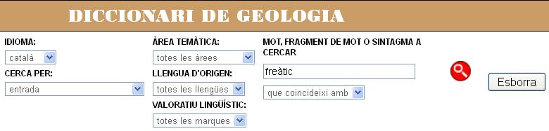 cerca geogogia