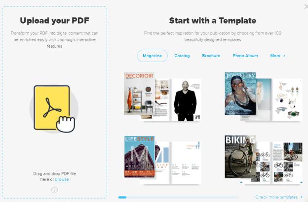 Joomag: per crear revistes digitals i publicar-les