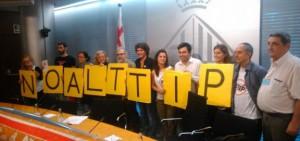 Barcelona oposada al TTIP