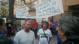 En huelga de hambre por la educación de su hijo
