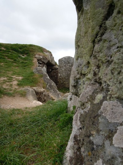 West Kennet Long Barrow viewed from South.