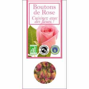 Aromandise Eetbare bio bloemen - rozenknopjes