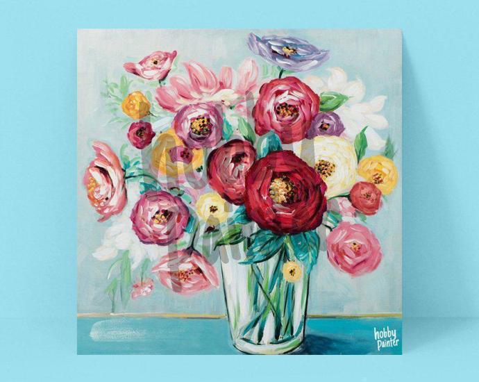 diamond painting bloemen