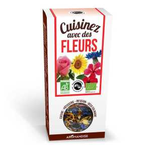 Aromandise Eetbare bio bloemen - bloemblaadjes mix 20g