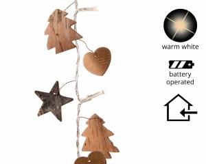 Led Kerstverlichting Berkenschors 20 lampjes
