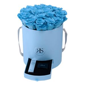 Flowerbox Longlife Fajah hellblau