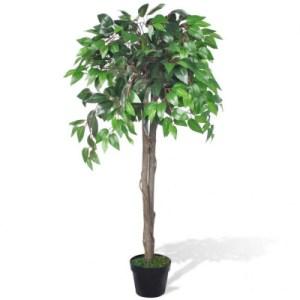 Kunst vijgenboom met pot 110 cm - vidaXL
