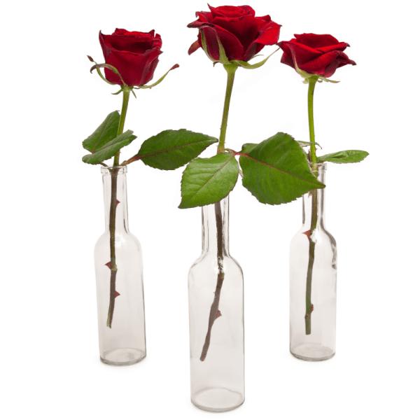 1 rode roos bezorgen bestellen of bezorgen