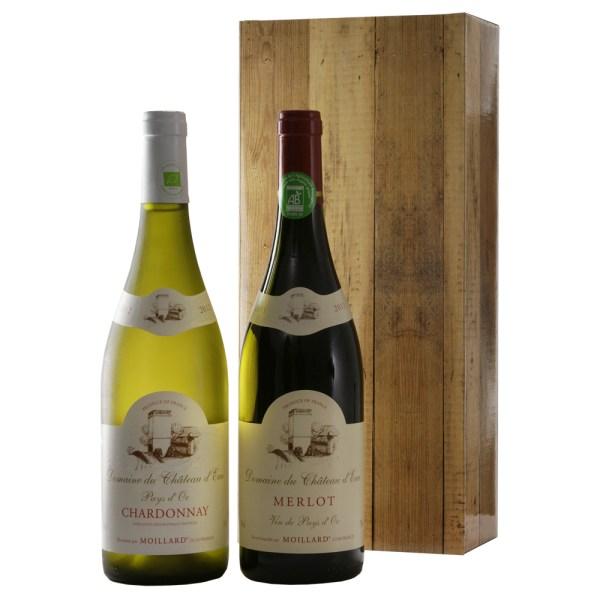 Biologische wijn rood en wit bestellen of bezorgen