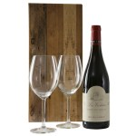 Cotes Du Rhone wijn en 2 wijn glazen bestellen of bezorgen