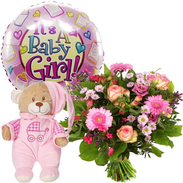 Geboorte bloemen meisje bezorgen bestellen of bezorgen
