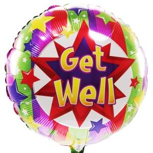 Get well ballon bestellen of bezorgen