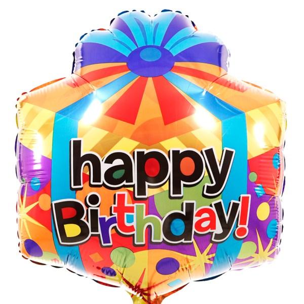 Happy birthday ballon vierkant bestellen bestellen of bezorgen