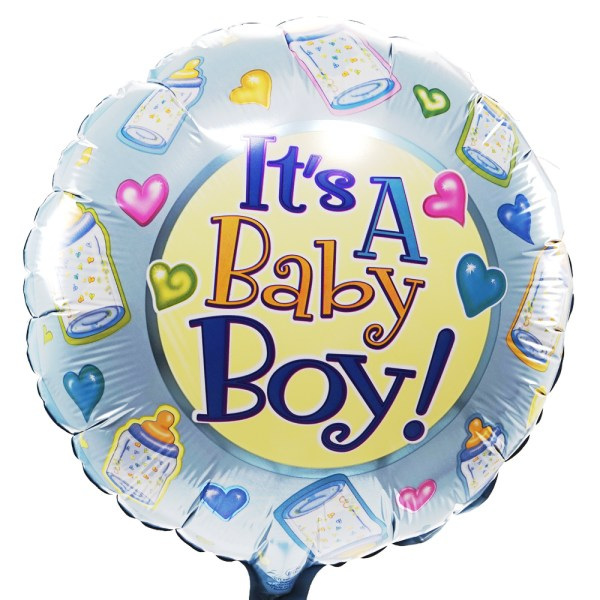 It's baby a boy ballon bestellen of bezorgen