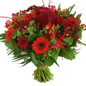Moederdag rode bloemen bestellen of bezorgen