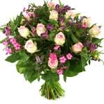Roze rozen en bloemen bestellen of bezorgen