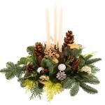 Tafel kerststuk lange kaarsen bestellen bestellen of bezorgen