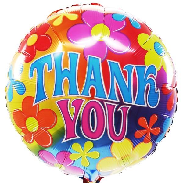 Thank you ballon bestellen of bezorgen