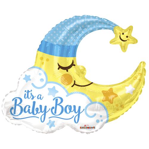 Baby Boy Moon Shape bestellen of bezorgen online