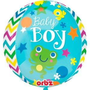 Baby Boy geboorte ballon bestellen of bezorgen online