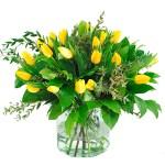 Boeket gele tulpen bestellen of bezorgen online