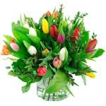 Boeket gemengde tulpen bestellen of bezorgen online