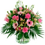 Boeket roze gemengd bestellen of bezorgen online